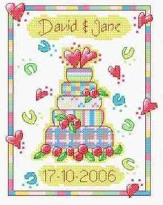 Wedding Announcement Cross Stitch Patterns by Free Cross Stitch Patterns And Lessons From About