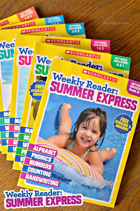 Scholastic Gift Card - scholastic weekly reader summer express workbooks 100 visa gift card giveaway