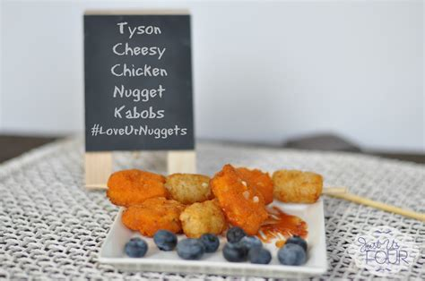 Nugget Cheesy Lover 500gr ad cheesy chicken nugget kabobs loveurnuggets my