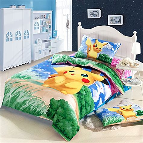 Bedcover Cbaracter best anime bedding sets for