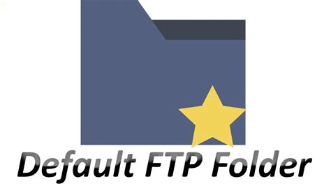 ftp default set up default ftp folder tutorial hosted ftp help