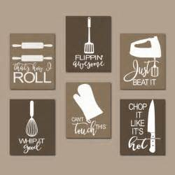 Kitchen Design Quotes Kitchen Quote Wall Utensil Pictures Canvas By Trmdesign Trm Design