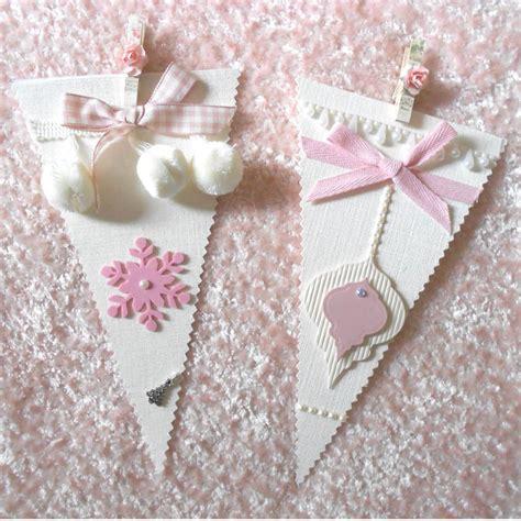 shabby chic christmas bunting banner garland on luulla