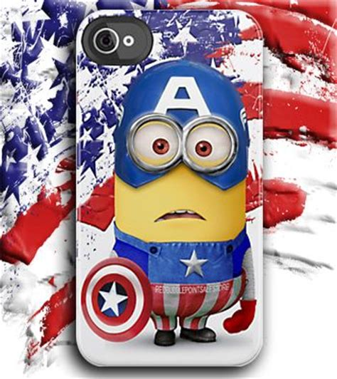 Despicable Me Captain America Minion V1479 Iphone 5 5s Se Casing Pr the world s catalog of ideas