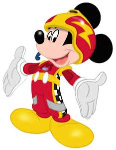 mickey amp roadster racers clipart