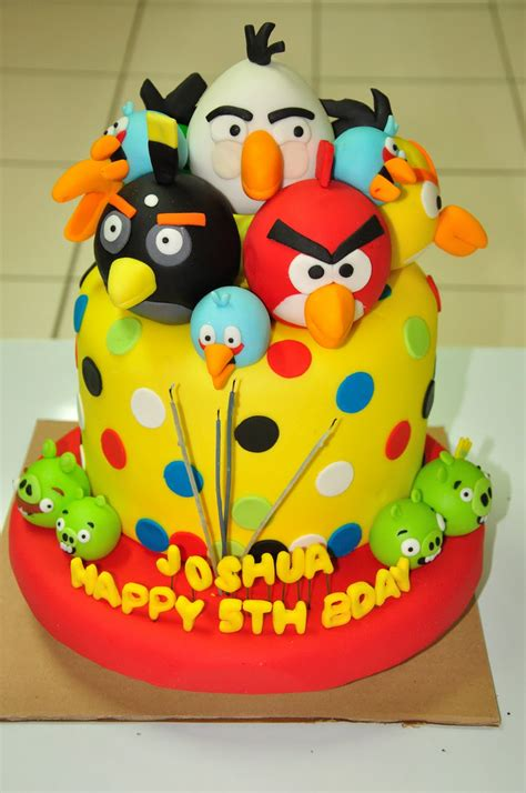 birthday cake angry birds cakes decoration ideas little birthday cakes