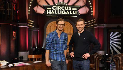 wann kommt circus halligalli der joko und klaas hype entertainment statt infotainment