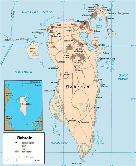 bahrain on world map bahrain maps