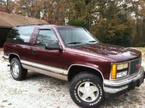 1993 Chevrolet Tahoe 2 Door 1993 Yukon Great Shape New Trans 4wd 4x4