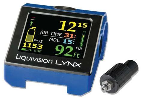 dive computers reviews liquivision lynx dive computer review scuba diving gear