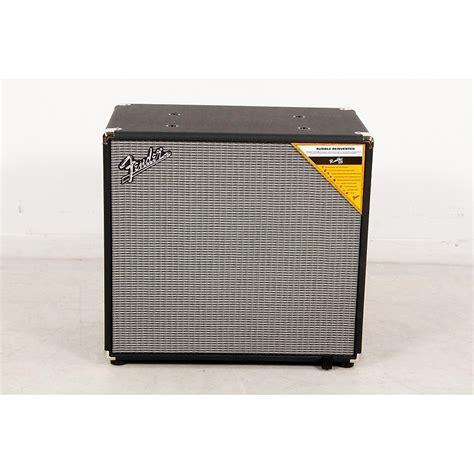 Best 15 Inch Bass Cabinet by Fender Rumble 115 600w 1x15 Bass Speaker Cabinet Regular