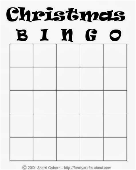 free bingo cards template bingo printable