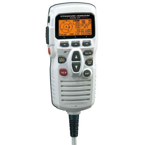 standard horizon ram mic standard horizon cmp31w second station ram microphone