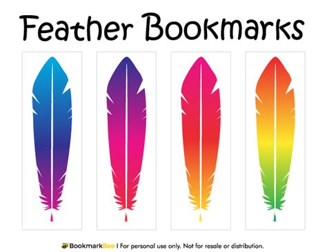 Punch Home Design Templates Download Printable Feather Bookmarks