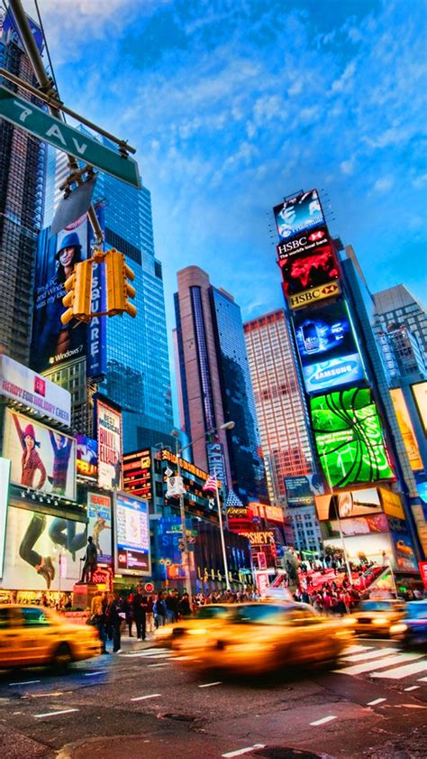 Phone Lookup Ny Times Square New York The Iphone Wallpapers
