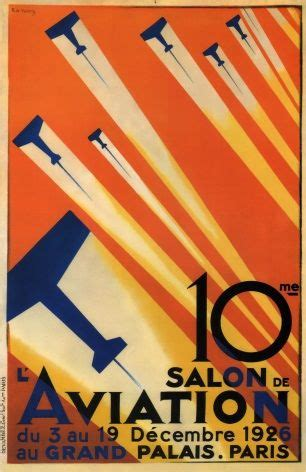 Poster Buster 30x40cm vintage poster 10th air show 1926