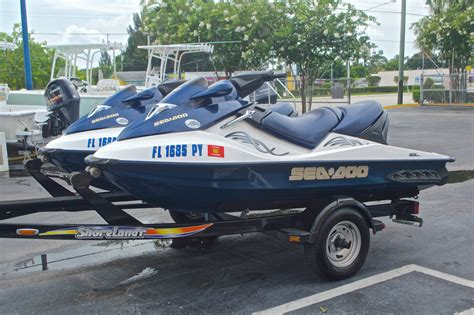 boat trailer parts west palm beach used 2005 sea doo gtx 4 tec boat for sale in west palm