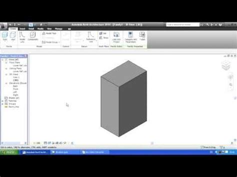 tutorial revit massing tutorial revit massing extrusion youtube