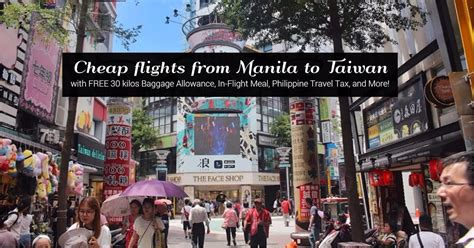 how i got to book a manila to taipei flight for 4 696 pesos with free 30 kilos baggage allowance