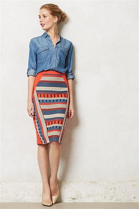 stylish pencil skirt ideas hative