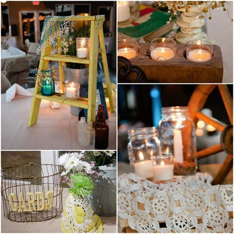 Texas Country Wedding With Vintage Decorations   Rustic