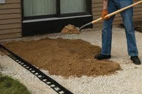 How To Dig For Paver Patio by Digging Out And Laying A Paver Patio The Home Depot Canada