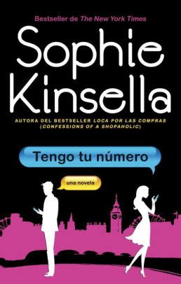 tengo tu n 250 mero i ve got your number by sophie kinsella paperback barnes noble 174