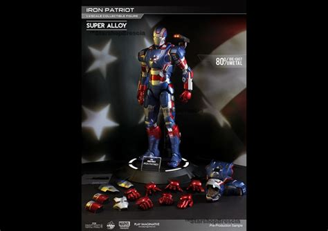 Ironman Figure Iron Patriot 1 iron 3 iron patriot 1 4 alloy figure