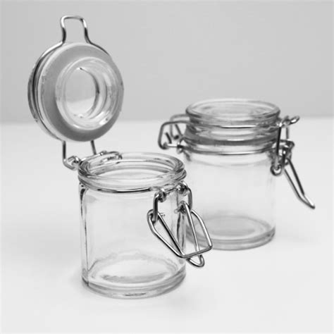 Mini Glass Spice Jars Mini Spice Jar Favor Glass Favors