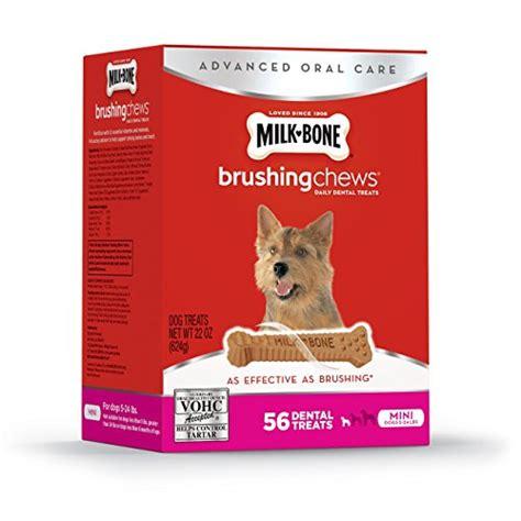 milk bone brushing chews daily dental treat milk bone brushing chews daily dental treats mini 22oz