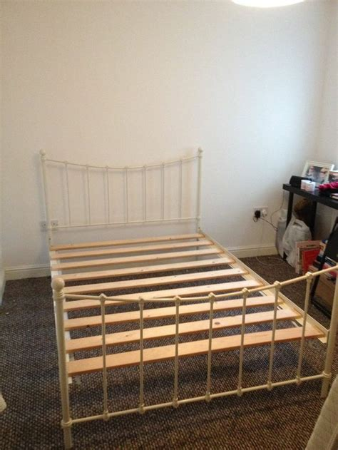 Shabby Chic Metal Bed Frame Beautiful Shabby Chic Metal Bed Frame