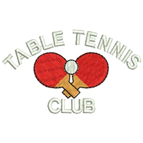 table tennis club 11705 stock embroidery designs for