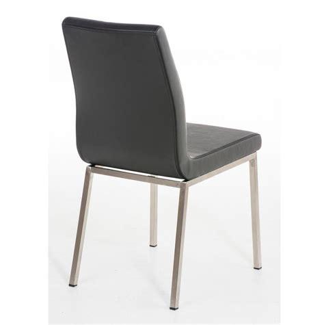 gambe per sedie sedia per ospiti colomo con gambe in acciaio inox e