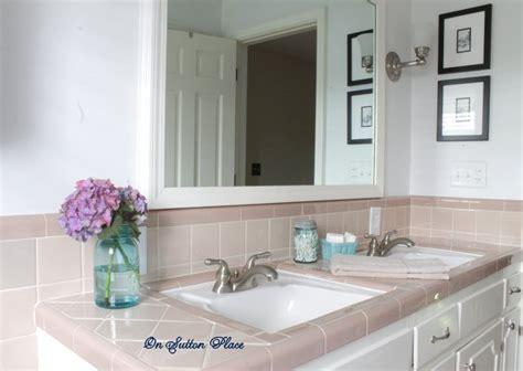 simple bathroom updates home tour on sutton place