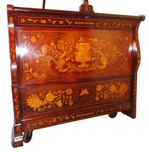 Antique Canopy Bed For Sale by Dutch Walnut And Floral Marquetry Canopy Bed Antiques Atlas