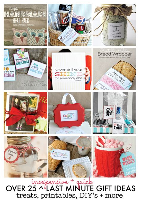 last minute gift ideas 25 inexpensive last minute gift ideas