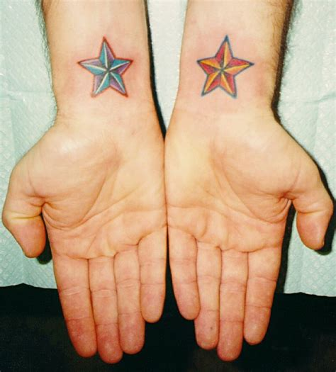 nautical star wrist tattoos tattoos on nautical cervical cancer and