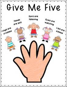 Give Me 5 The House Song Peace And Learning Quot Give Me Five Quot Freebie
