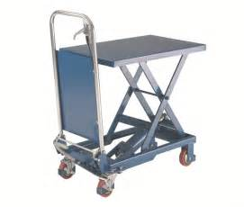 scissor lift table ladders and access