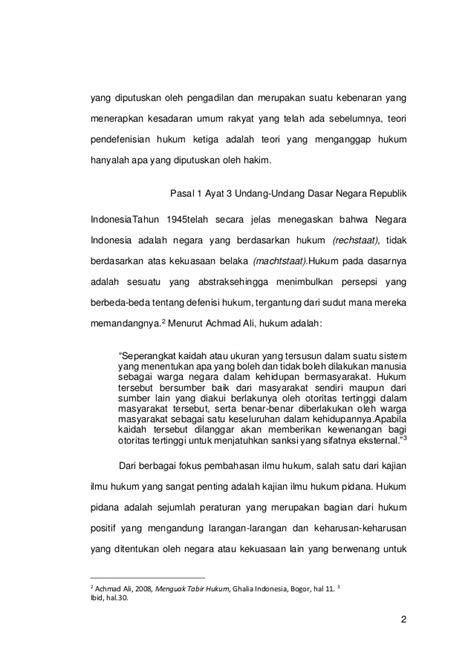 Menguak Teori Hukum Dan Teori Peradilan Achmad Ali skripsi lengkap hukum tindak pidana penipuan