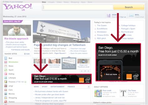what is a design brief yahoo banner ad exles banner ad exles more clickable