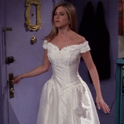 Rachel Green in 'Friends'   TV Wedding Dresses, Ranked
