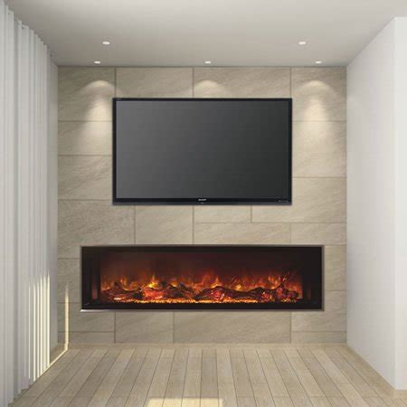 modern flames 60 quot landscape series linear electric
