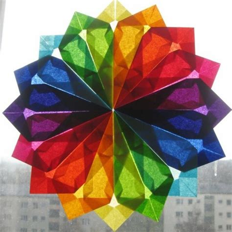 Tissue Paper Suncatcher Craft - tissue paper suncatcher craft ideas