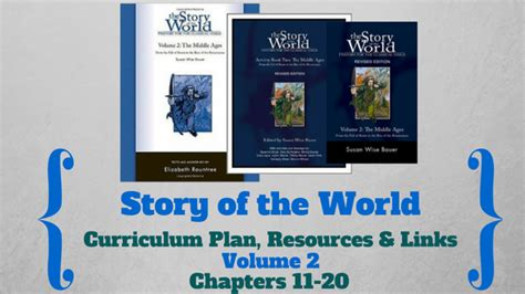 Curriculum Resources And Links | story of the world volume 2 curriculum plan resources