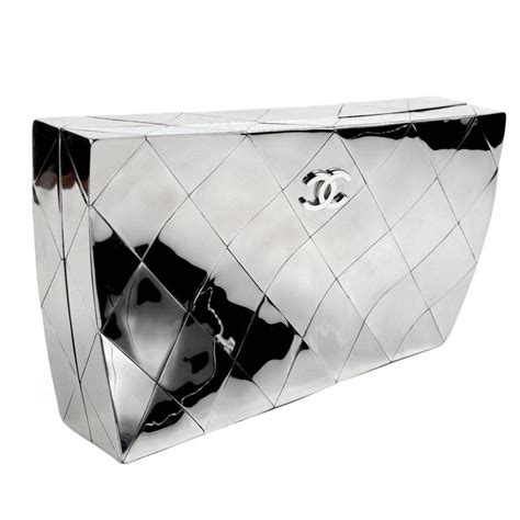 Chanel Wallet Mirror Quality 1 chic chanel mirror clutch 2012 at 1stdibs