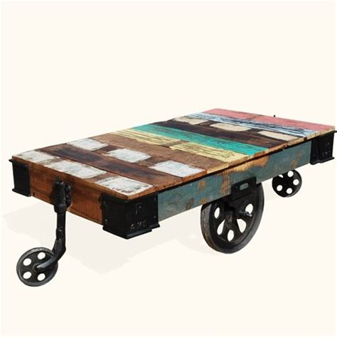furniture cart coffee table 5 best factory cart coffee tables with wheel legs tool box