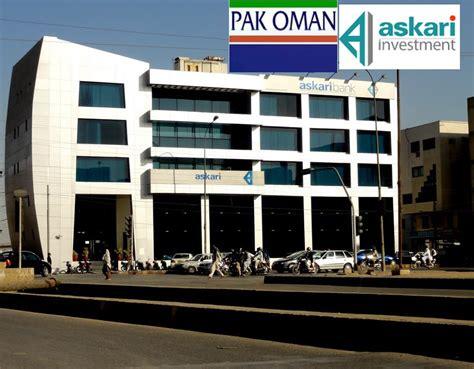 askari bank pak oman company set to acquire askari investment