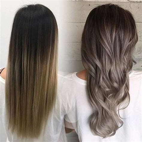 ash gray highlights on brown hair 54 ash brown brunette hair style easily
