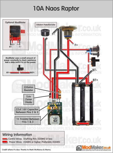 naos raptor wiring diagram wiring diagram schemes